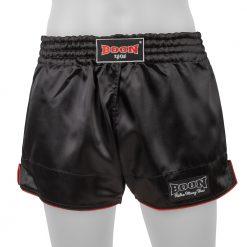 Boon Sport Black Retro Muay Thai Shorts