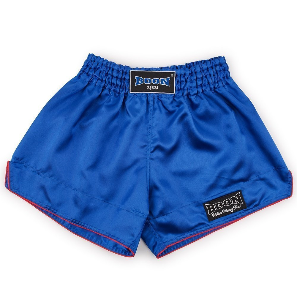 Boon Sport Blue Retro Muay Thai Shorts