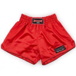 Boon Sport Red Retro Muay Thai Shorts