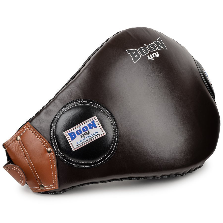 boon sport brown buckle strap belly pad bpb