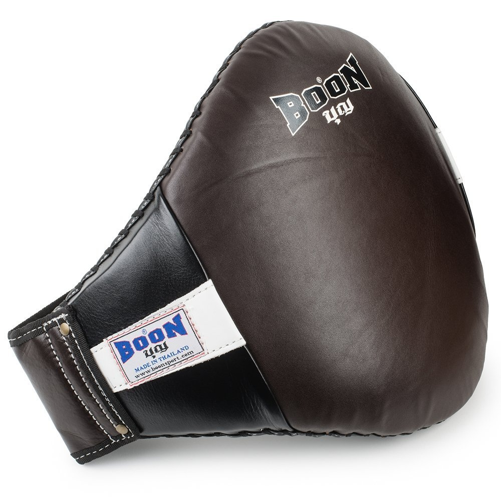 boon sport brown black velcro strap belly pad bpv2