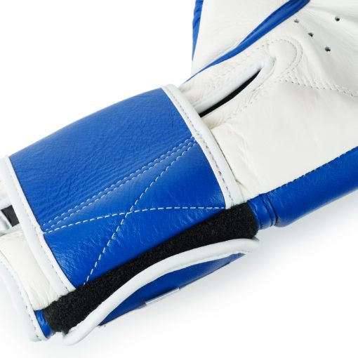 Boon Sport traditional blue muay thai boxing gloves