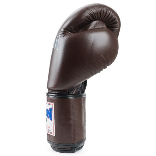 Boon Sport traditional brown muay thai boxing gloves