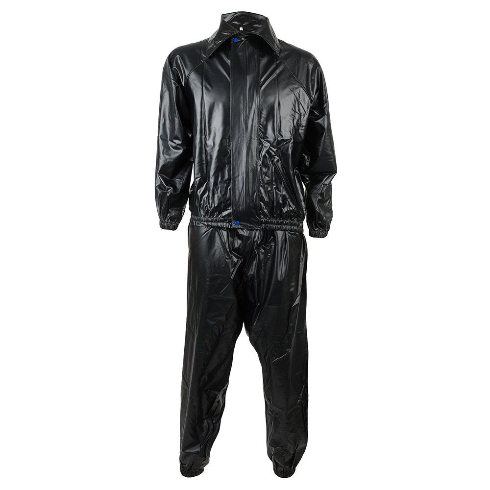 Boon Sport Zip Front Sauna Suit Black SWSZ