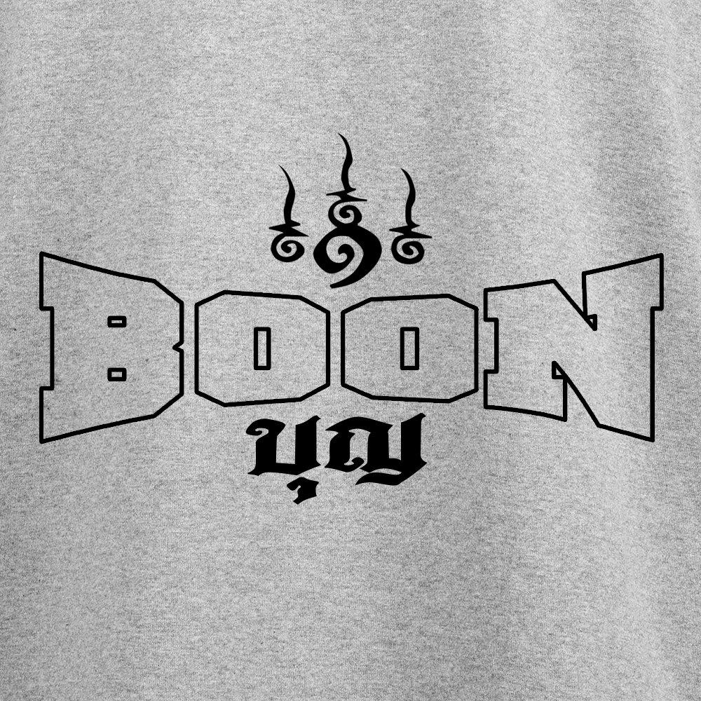Boon Sport Muay Thai T-Shirt Logo Grey TSB-G