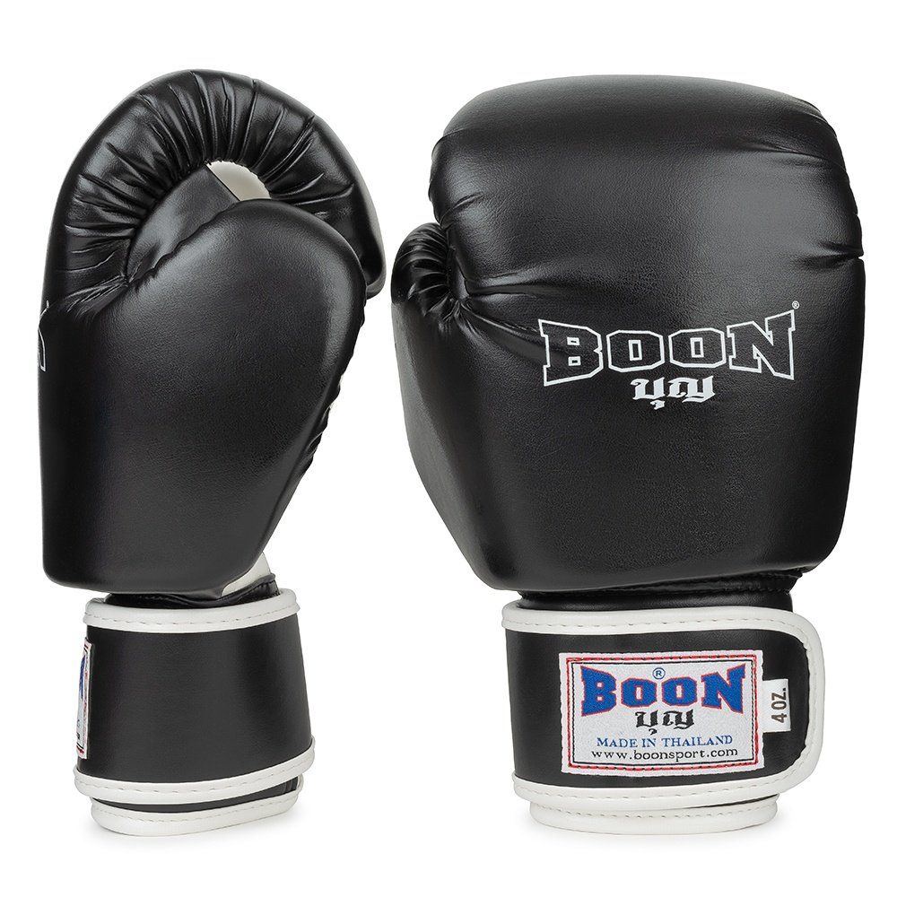 Boon Kids Boxing Gloves Black 4oz BGV-BK-4